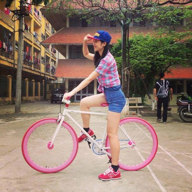 Xe đạp không phanh 'hút' khách 3
