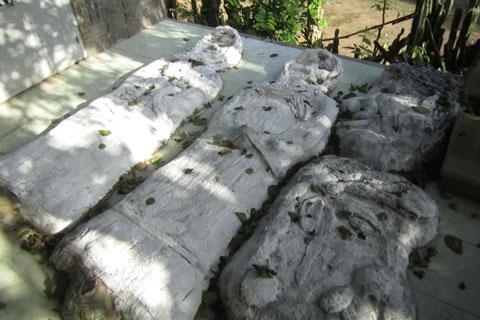 """Cận cảnh """"nghĩa địa đầu người"""" tại Tây Ninh 1"""