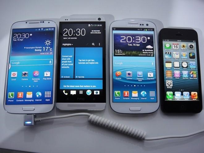Smartphone cao cấp ồ ạt giảm giá 2