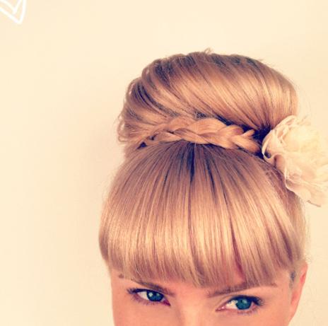 Những kiểu tóc búi đơn giản nhưng đẹp đến lạ kì 1