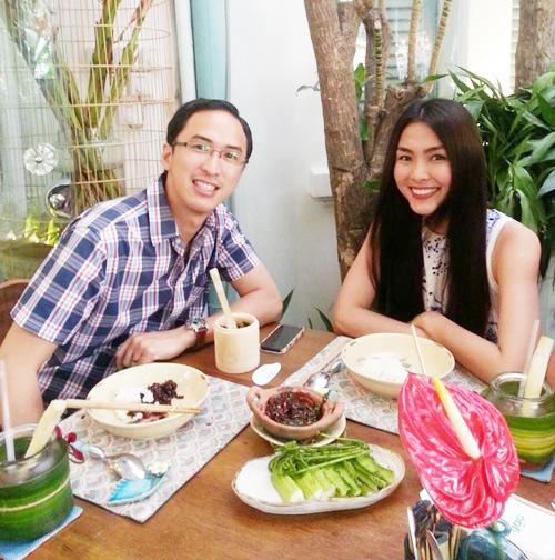 Bữa tối hấp dẫn của vợ chồng Hà Tăng  4
