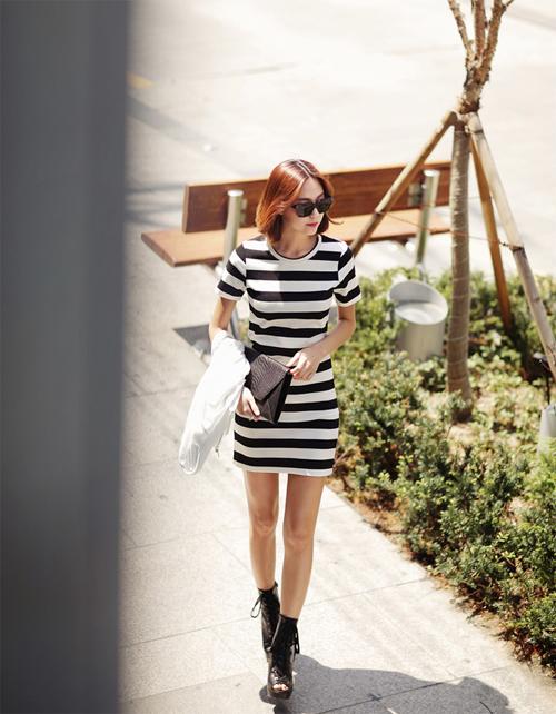 Nữ tính và thoải mái cùng những chiếc váy cotton 10