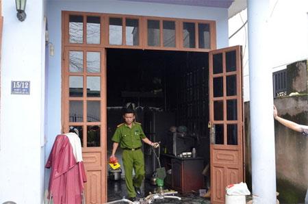 Hai bé gái chết cháy trong căn nhà khóa cửa ở Sài Gòn 1