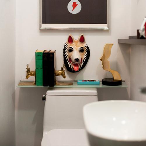 Làm mới phòng tắm với trang trí đơn giản 4
