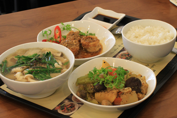 No miệng bữa trưa với những món ăn rau củ 6