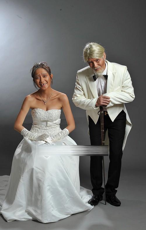 Ảnh cưới độc đáo của các cặp vợ chồng sao Việt 8