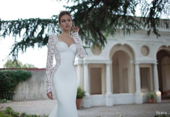 Những mẫu váy cưới dài tay đẹp đến khó tin 25