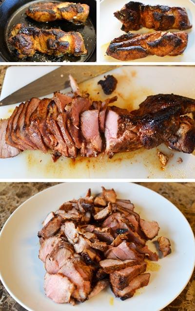 Thịt lợn xào tiêu cay 7