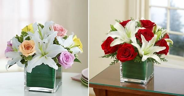 5 cách cắm hoa ly để bàn tuyệt đẹp 3