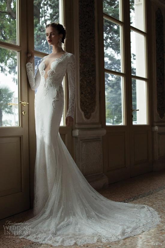 Những mẫu váy cưới dài tay đẹp đến khó tin 7