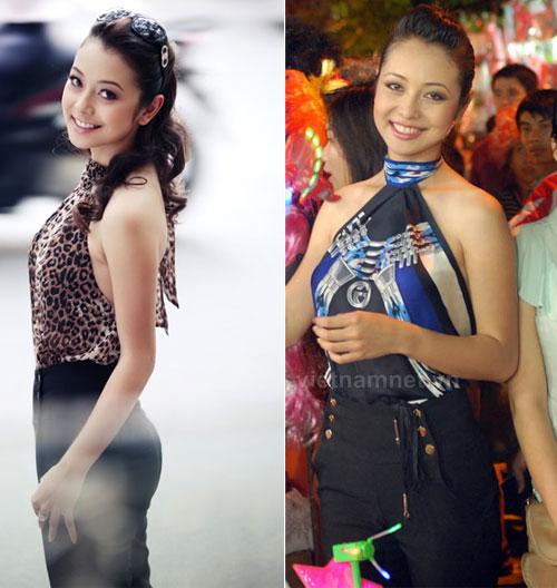 Tận mắt so sánh nhan sắc mỹ nhân Việt cùng diện áo yếm 9