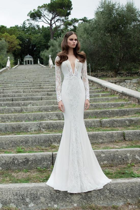 Những mẫu váy cưới dài tay đẹp đến khó tin 20