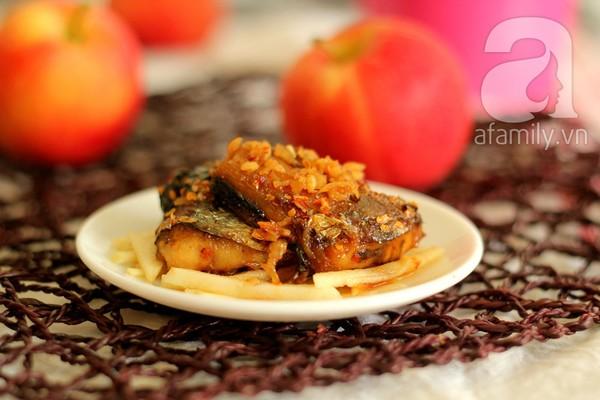 Cơm ngon với món cá chiên mắm tỏi 13
