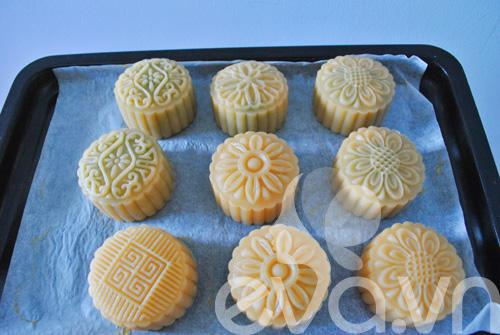 Công thức đơn giản tự làm bánh trung thu thập cẩm 8
