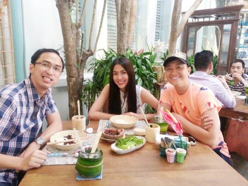 Bữa tối hấp dẫn của vợ chồng Hà Tăng  6