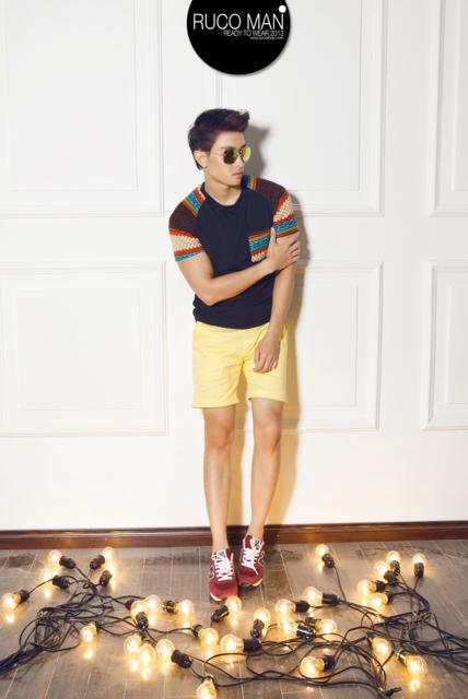 Biến hóa cho thời trang nam trong hè 2013 9