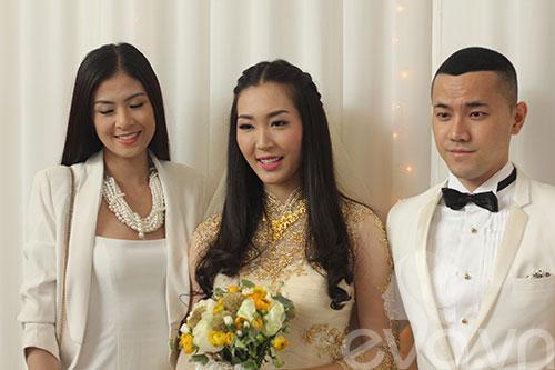 Ngắm hoàng tử bé trong đám cưới Á hậu Thùy Trang 10