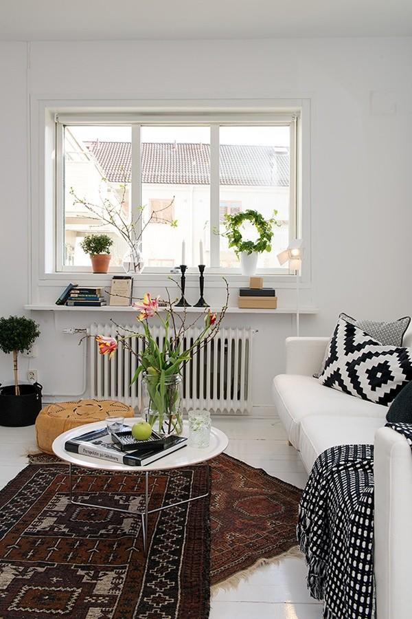 Ghé căn hộ 41m² trắng sáng mà không đơn điệu 4