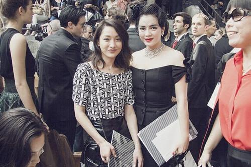 Soi thời trang hàng hiệu trong tháng của sao Việt 3
