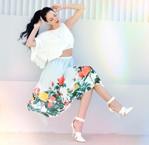 Những mẫu váy xòe đang 'tung hoành' làng thời trang 5