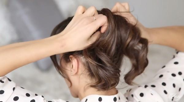 3 kiểu tóc nhanh gọn, điệu đà cho ngày trễ giờ làm 11