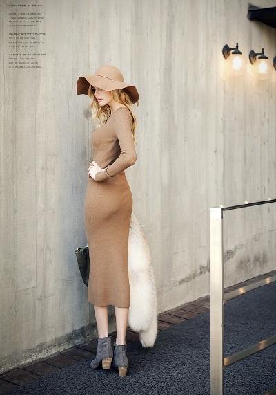 """Những mẫu váy len mùa đông 2013 đẹp """"ngút trời"""" 15"""