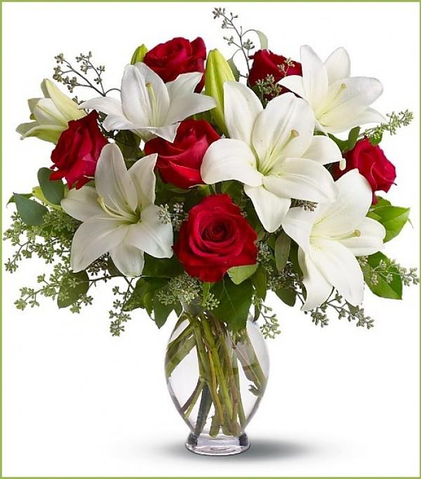 5 cách cắm hoa ly để bàn tuyệt đẹp 1