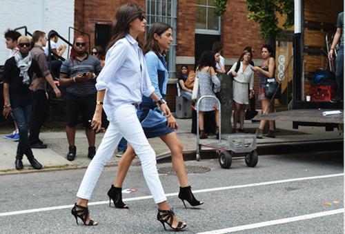 Phối đồ nổi bật cùng 4 kiểu quần trắng phổ biến cho nàng công sở 8