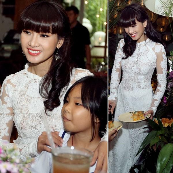 Kiều nữ Việt đẹp mong manh váy trắng 9