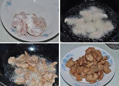 Chua ngọt dễ ăn món thịt heo xào dứa 5