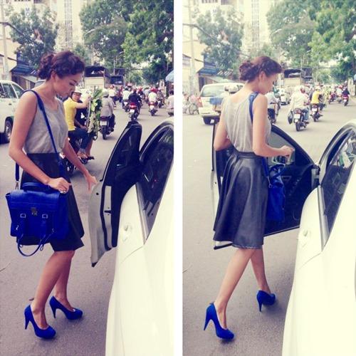 Soi thời trang hàng hiệu trong tháng của sao Việt 8