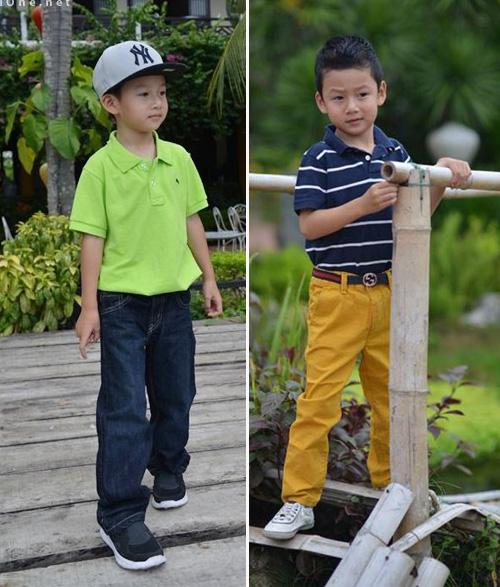 Thời trang sành điệu của nhóc tì nhà sao Việt (2) 2