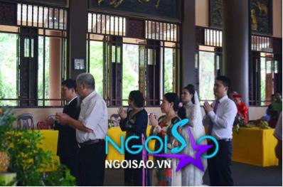 Lễ cưới theo nghi thức Phật giáo của ca sỹ Mỹ Dung 6