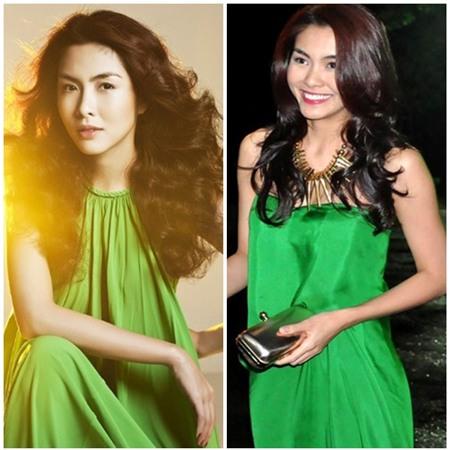 Sao Việt quyến rũ với váy suông 7