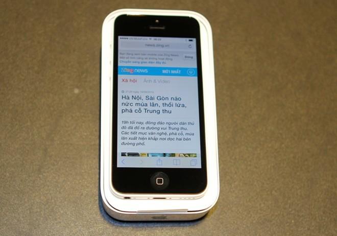 iPhone 5S đầu tiên tại Sài Gòn được bán với giá 52 triệu 11