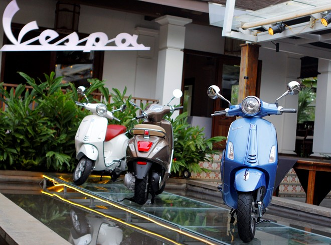 Cận cảnh Vespa Primavera - mẫu xe thay thế LX tại Việt Nam 1