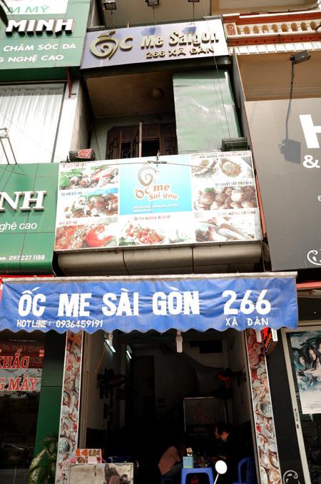 Các quán ốc Sài Gòn ngon trên đất Hà Thành 10