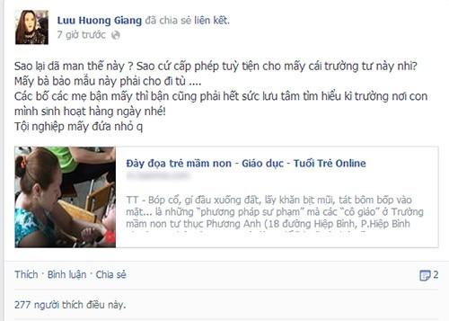 Sao Việt phẫn nộ vụ bảo mẫu bạo hành trẻ 3