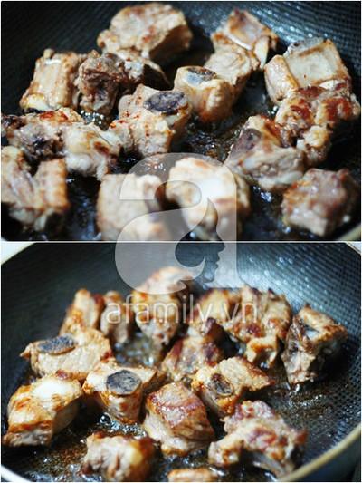 Sườn chiên mắm tỏi đậm đà ngon cơm 5