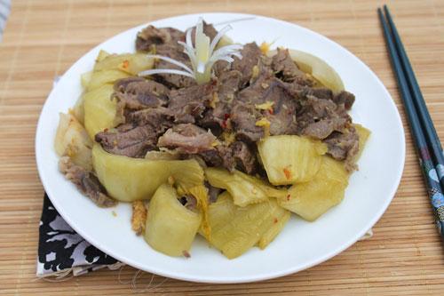 9 cách làm món bắp bò ngon như ăn tiệc (1) 1