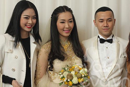 Ngắm hoàng tử bé trong đám cưới Á hậu Thùy Trang 8