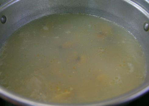 Ngọt mát canh nghêu nấu cà chua, đậu phụ 3