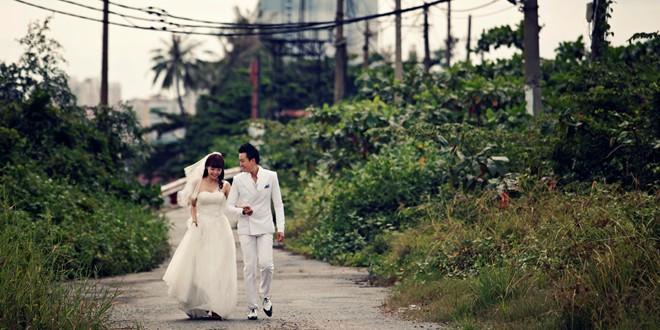 Ảnh cưới đẹp lung linh của Minh Hằng - Lương Mạnh Hải 4