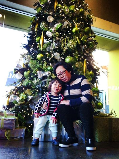 Con gái Trần Thu Hà vô cùng dễ thương 7