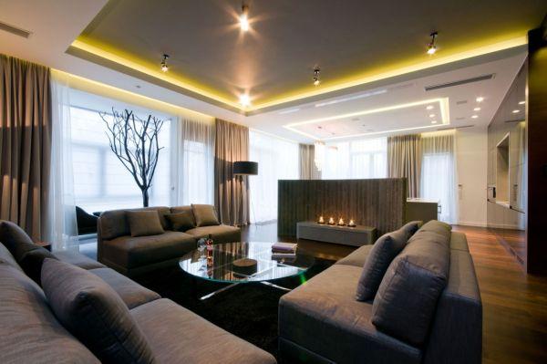 15 phong cách nội thất cho phòng khách rộng 1