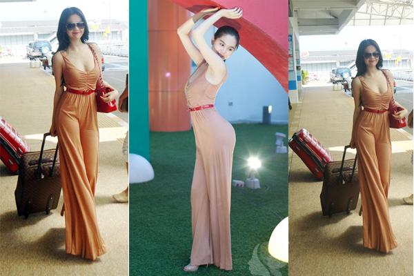 Hút mắt với thời trang sân bay của Ngọc Trinh 11