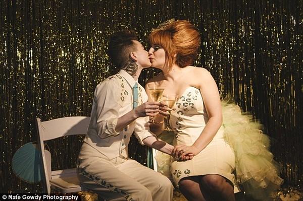 Chùm ảnh cưới đẹp long lanh của cặp đôi đồng tính Mỹ 11
