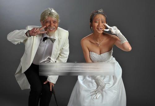 Ảnh cưới độc đáo của các cặp vợ chồng sao Việt 7