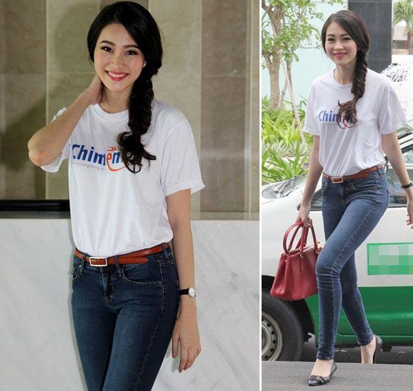 """5 """"nữ hoàng áo phông"""" của showbiz Việt 21"""