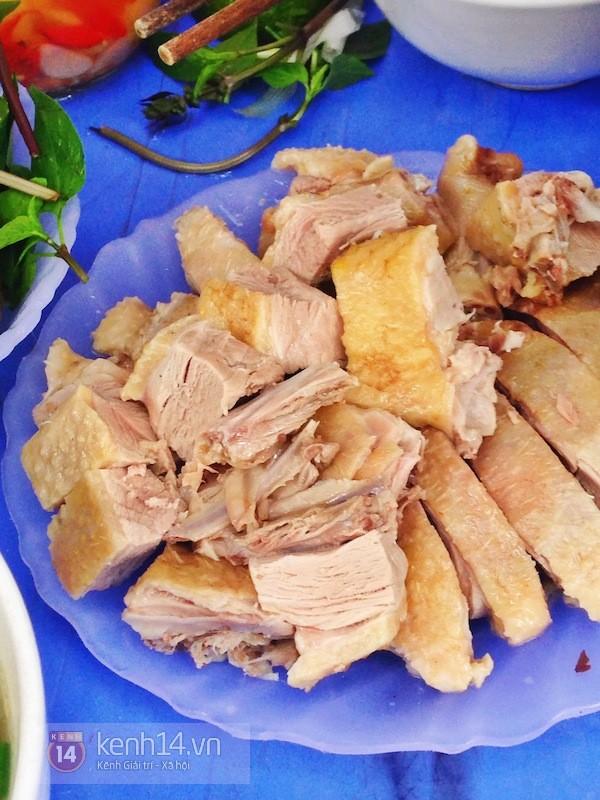 Hà Nội: Trời hanh hao đi ăn bún ngan phố Hàng Phèn 5